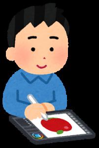tablet_oekaki_man